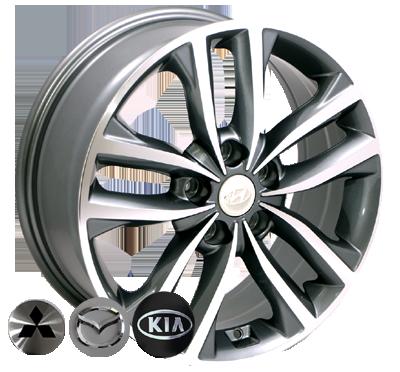Диски - Zorat Wheels BK846 GP