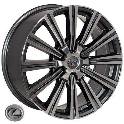 Диски - Zorat Wheels BK5166 GP