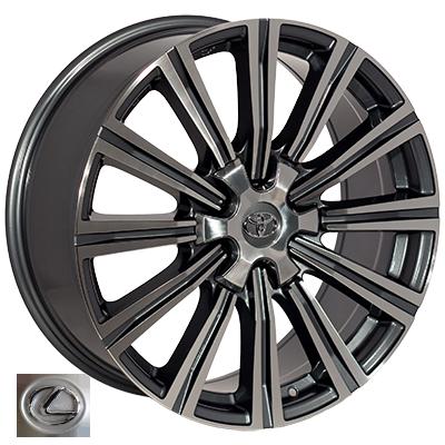 Диски - Zorat Wheels BK5166 GP