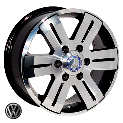 Диски - Zorat Wheels BK562 BP