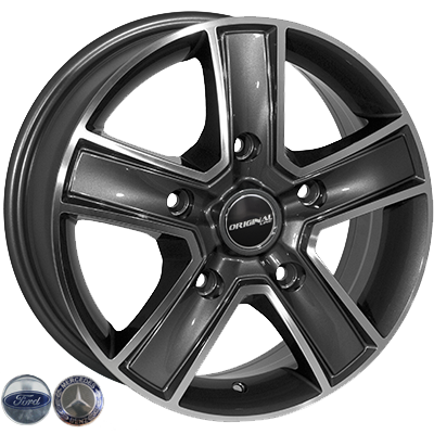 Диски - Zorat Wheels BK473 GP