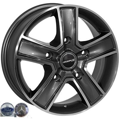 Диски - Zorat Wheels BK473 GP
