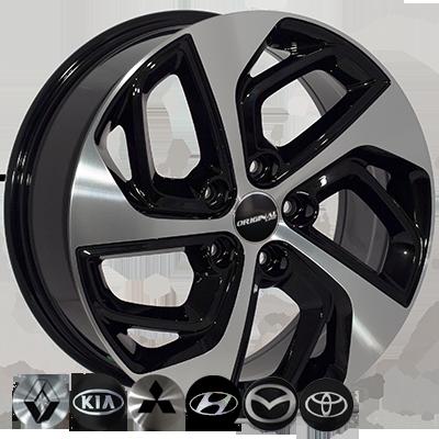 Диски - Zorat Wheels BK5312 BP