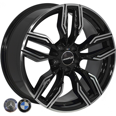 Диски - Zorat Wheels BK5181 BP