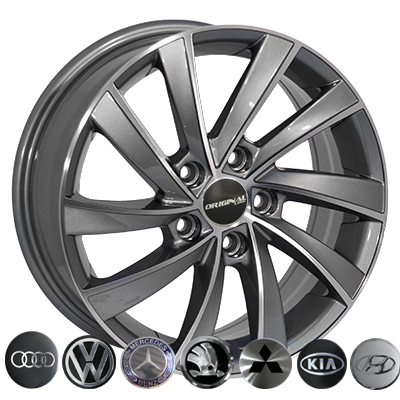 Диски - Zorat Wheels BK5290 GP