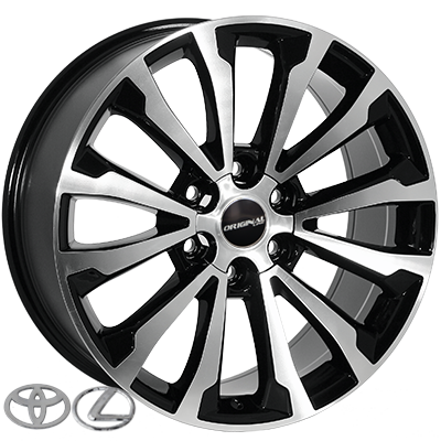Диски - Zorat Wheels BK5391 BP